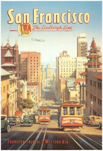 cs46~La-linea-Lindbergh-San-Francisco-California-Posters