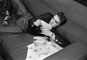 Elvis Reading Fan Mail
