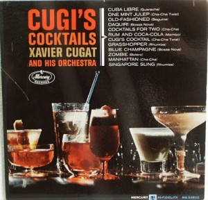 LP Mercury Cugie's Cocktails MONO Front