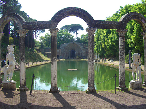 Villa Adriana Pianta Watkin