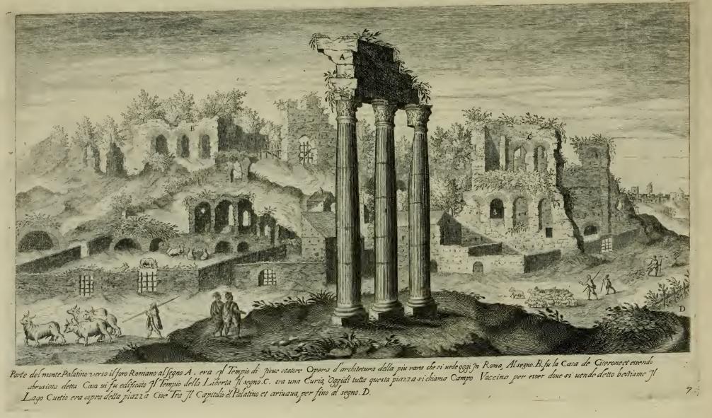Los grabados de Étienne Dupérac mil años después de la caída de Roma ...