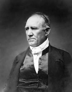 El primer Presidente de la República de Texas, San Houston.