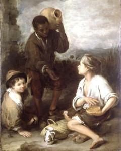 Bartolome_murillo-tres_niños