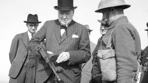 """A Winston Churchill también le """"moalba"""" la Thompson."""